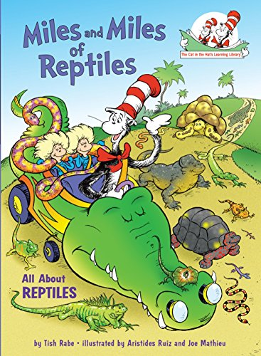 9780375828843: Miles and Miles of Reptiles: All About Reptiles (Cat in the Hat's Learning Library)