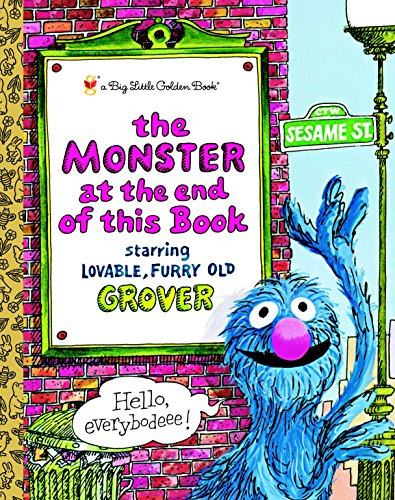 9780375829130: The Monster at the End of this Book (Sesame Street) (Big Little Golden Book)