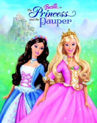 Barbie as The Princess and the Pauper: Golden Books