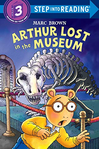9780375829734: Arthur Lost in the Museum [With Stickers] (Step Into Reading. Step 3)