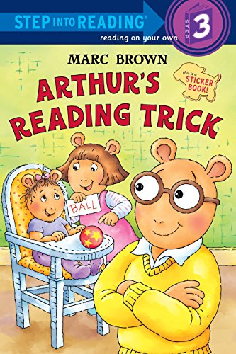 9780375829772: Arthur's Reading Trick (Step into Reading)