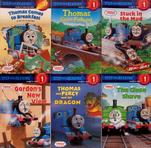 9780375829819: Thomas & Friends Step Into Reading Pack