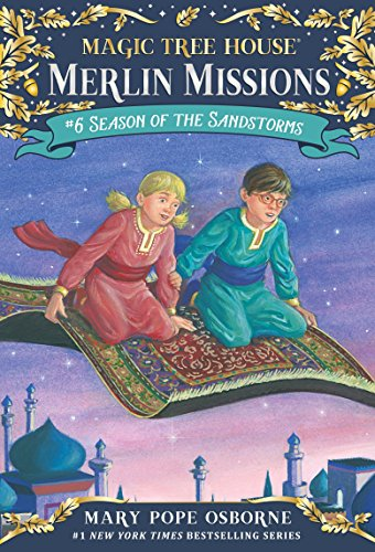 9780375830327: Magic Tree House #34 Season of the Sandstorms