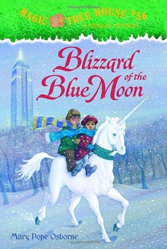 9780375830372: Blizzard of the Blue Moon (Magic Tree House)