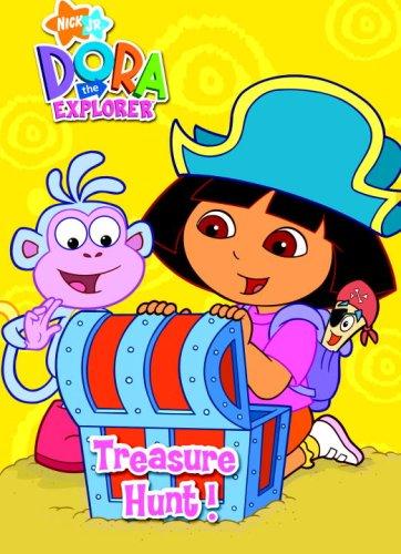 Treasure Hunt! (Dora the Explorer) (Super Coloring Book): Golden Books