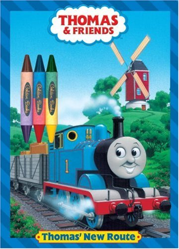 9780375830853: Thomas' New Route (Thomas & Friends) (Color Plus Double-Sided Crayon)