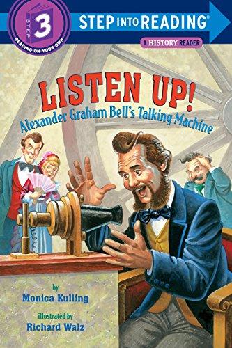 9780375831157: Listen Up!: Alexander Graham Bell's Talking Machine