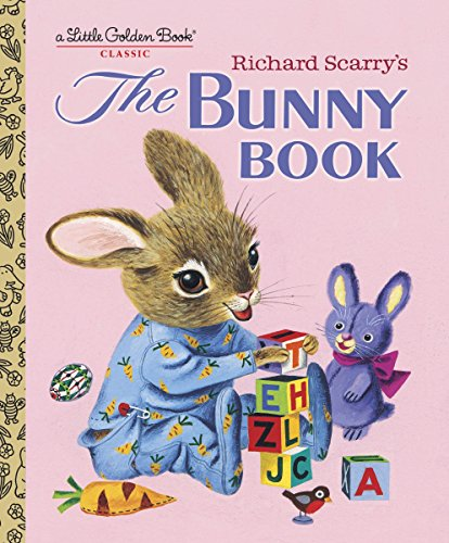 9780375832246: Richard Scarry's The Bunny Book (Little Golden Book)