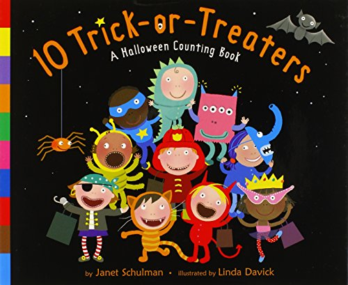9780375832253: 10 Trick-Or-Treaters: A Halloween Counting Book