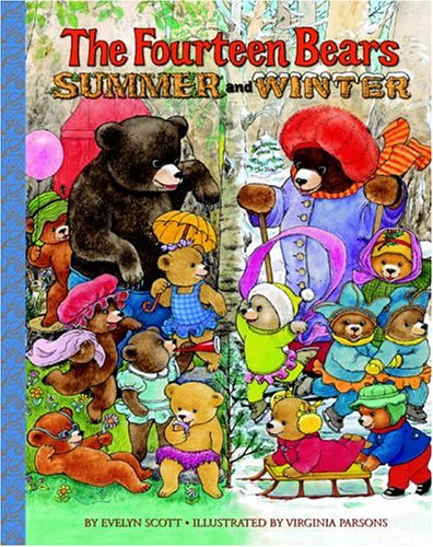 9780375832796: The Fourteen Bears in Summer and Winter (Deluxe Golden Book)