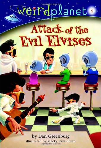 9780375833472: Weird Planet #4: Attack of the Evil Elvises (A Stepping Stone Book(TM))