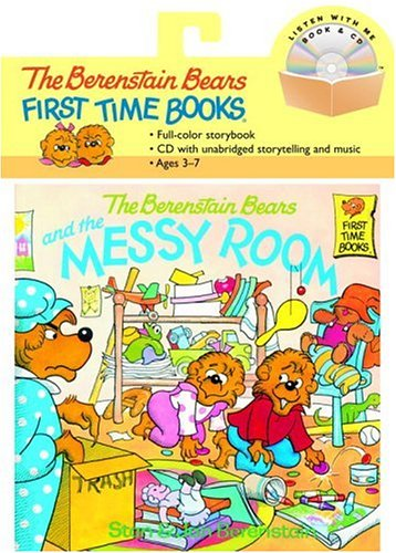 9780375834127: The Berenstain Bears and the Messy Room Book and CD (Berenstain Bears First Time Books)