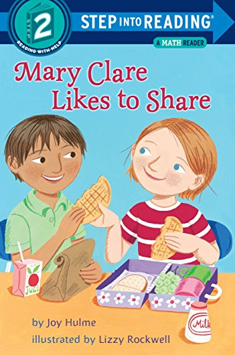 9780375834219: Mary Clare Likes to Share: A Math Reader (Step into Reading)