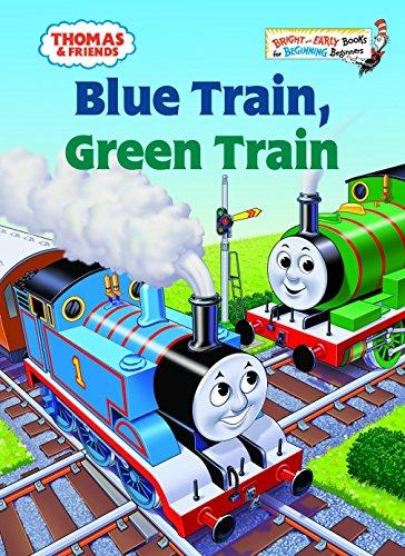 9780375834639: Thomas & Friends: Blue Train, Green Train (Thomas & Friends) (Bright & Early Books(R))