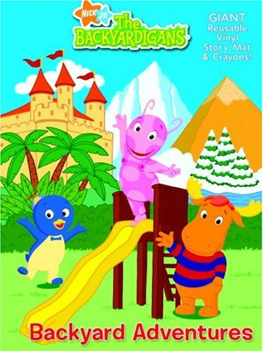 Backyard Adventures (Backyardigans, The) (Story Mats to Color): Golden Books