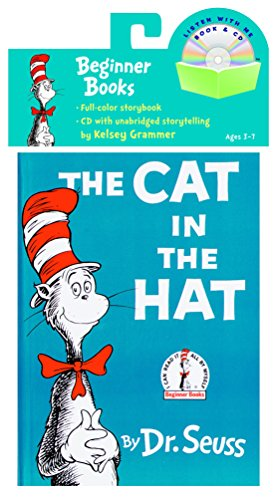 9780375834929: The Cat in the Hat Book [With CD] (Dr. Seuss)