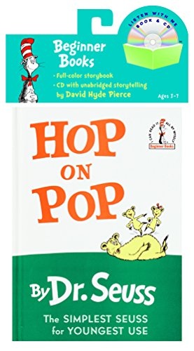 9780375834936: HOP ON POP BOOK & CD
