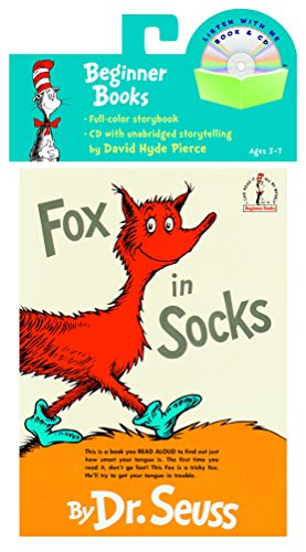 9780375834943: Fox in Socks (Beginner Books Read-Along Book & Audio)