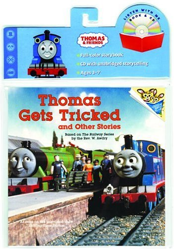 Thomas Gets Tricked Book & CD (Book and CD): Awdry, Rev. W.