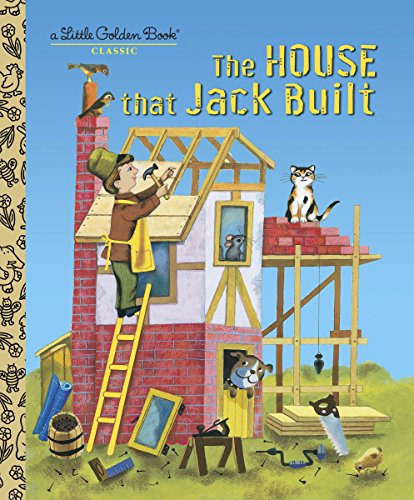 9780375835308: The House That Jack Built (Little Golden Books)