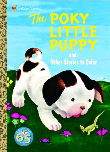 9780375835360: The Poky Little Puppy and Other Stories to Color (Super Coloring Book)