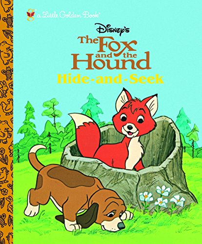9780375836626: The Fox and the Hound: Hide and Seek (Little Golden Book)