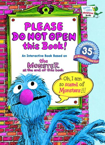 Please Do Not Open this Book! (Bright & Early Playtime Books): Stone, Jon