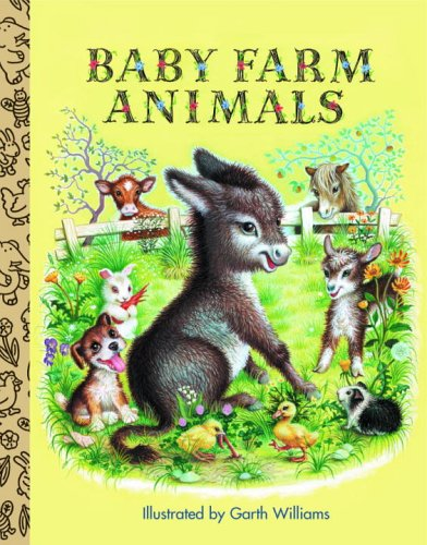 9780375836862: Baby Farm Animals (Little Golden Treasures)