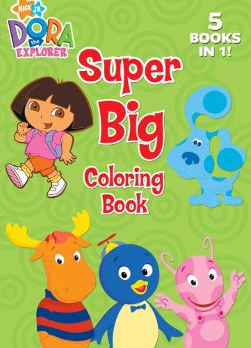 9780375838460: Super Big Coloring Book (Jumbo Coloring Book: Nick Jr ...