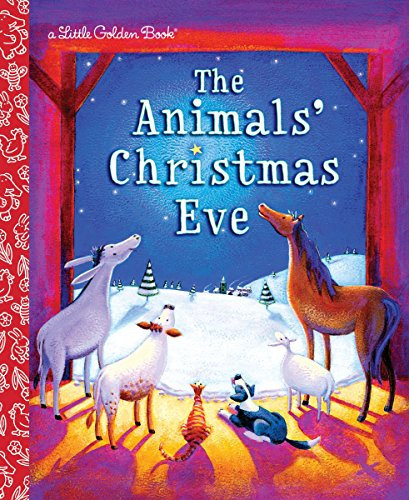 9780375839238: The Animals' Christmas Eve (Little Golden Book)