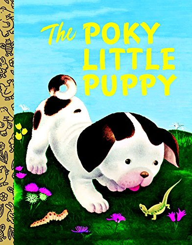 9780375839252: LGB Board Bk: The Poky Little Puppy (Little Golden Treasures)