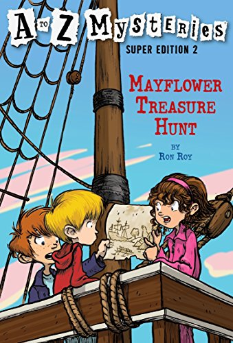 9780375839375: Mayflower Treasure Hunt (A to Z Mysteries Super Edition, No. 2)