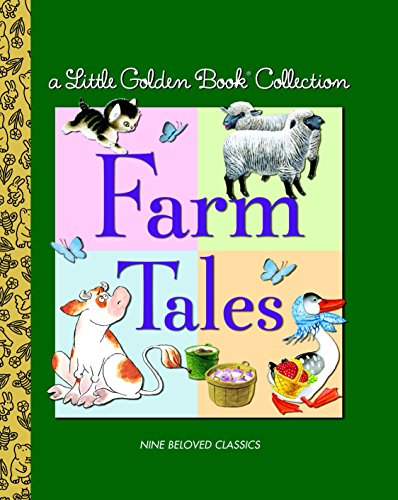 9780375839429: Little Golden Book Collection: Farm Tales (Little Golden Book Treasury)