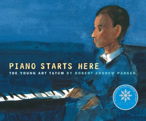 9780375839658: Piano Starts Here: The Young Art Tatum
