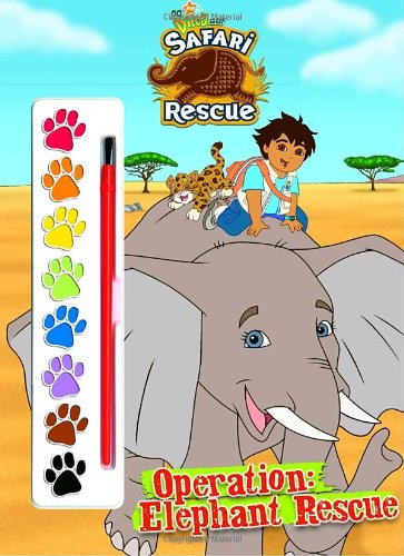 Operation: Elephant Rescue (Go, Diego, Go!): Golden Books