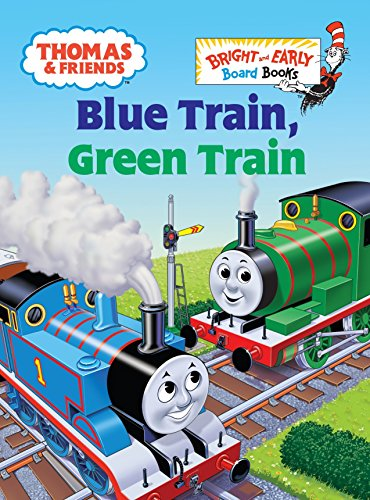 9780375839849: Thomas & Friends: Blue Train, Green Train (Thomas & Friends) (Bright and Early Board Books)