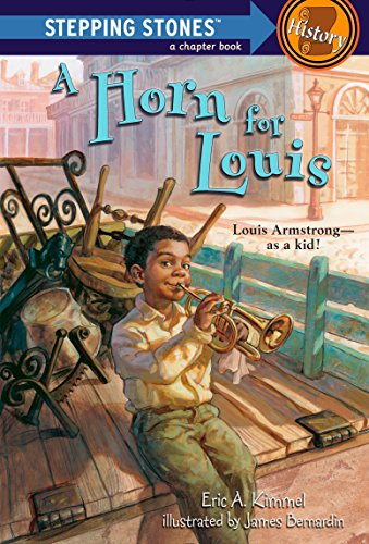 A Horn for Louis: Louis Armstrong-as a kid! ) 9780375840050 How did famous New Orleans jazz trumpet player Louis Armstrong get his first horn? Seven-year-old Louis Armstrong was too poor to buy a
