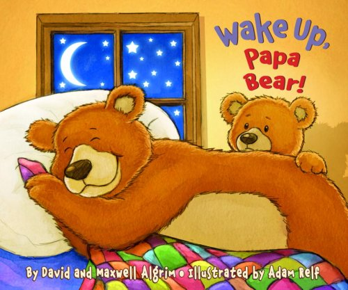 9780375840340: Wake Up, Papa Bear! (Touch-and-Feel)