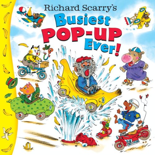9780375841200: Richard Scarry's Busiest Pop-Up Ever!