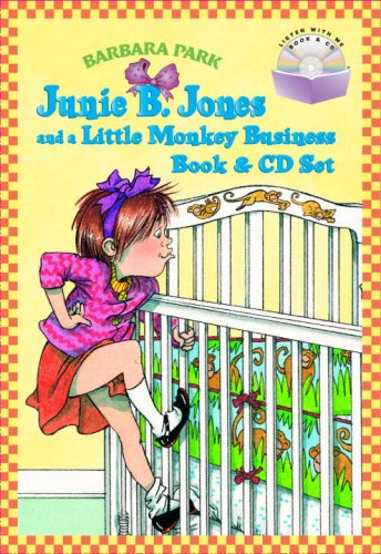 9780375841576: Junie B. Jones and a Little Monkey Business (Book & CD)