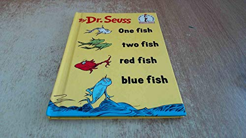 One fish two fish red fish blue fish dr seuss by seuss for Red fish blue fish book