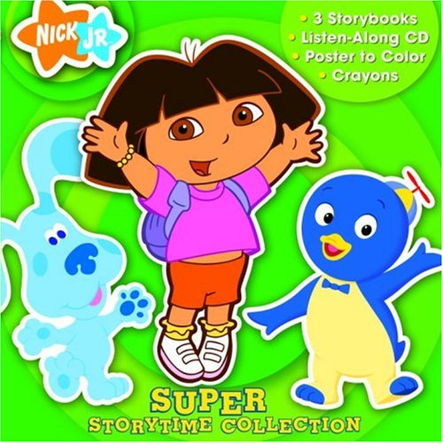 Nick Jr. Super Storytime Collection (Book and CD): Golden Books