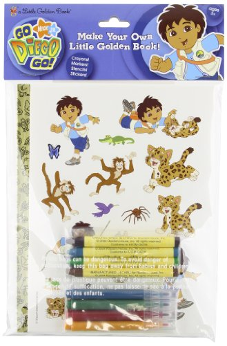 9780375843129: Go, Diego Go! Make Your Own Little Golden Book (Go, Diego, Go!)