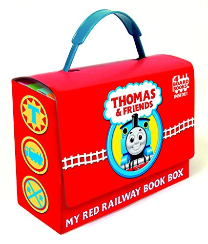 9780375843228: Thomas and Friends: My Red Railway Book Box (Bright & Early Board Books)