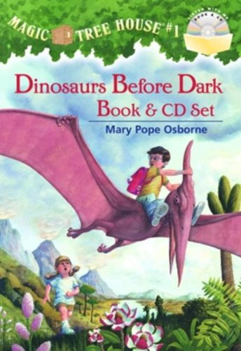 9780375844058: Magic Tree House 1. Dinosaurs Before Dark. Book + CD