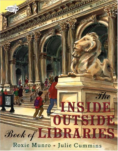 9780375844515: The Inside-Outside Book of Libraries