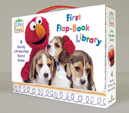 9780375845123: Elmo's World First Flap-Book Library
