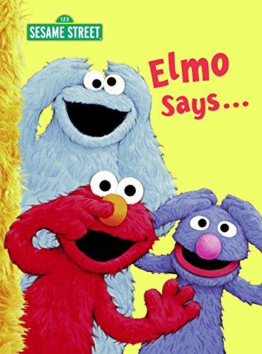 9780375845406: Elmo Says... (Sesame Street) (Big Bird's Favorites Board Books)