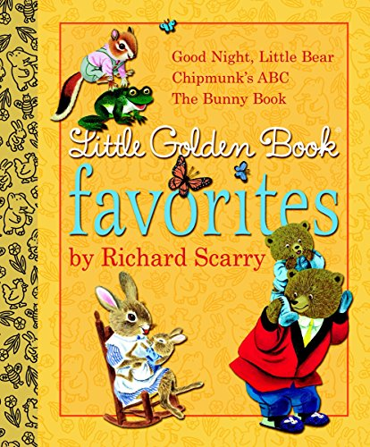 9780375845802: Little Golden Book Favorites by Richard Scarry