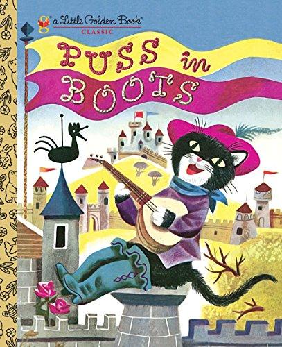 9780375845833: Puss in Boots (Little Golden Books)